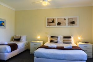 2 Bedroom Coffs Harbour Apartment - Main Bedroom